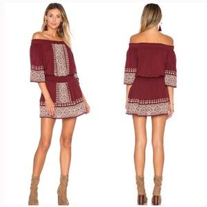 TULAROSA Revolve Fiona Off the Shoulder Dress